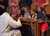 little kids communion
