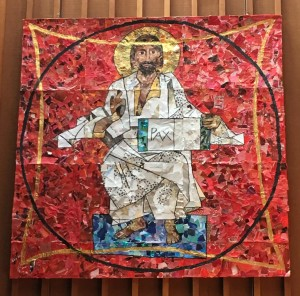 prince of peace mosaic