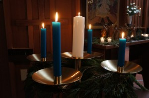Advent Wreath on Christmas