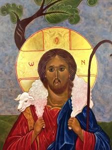 Jesus the Good Shepherd Icon
