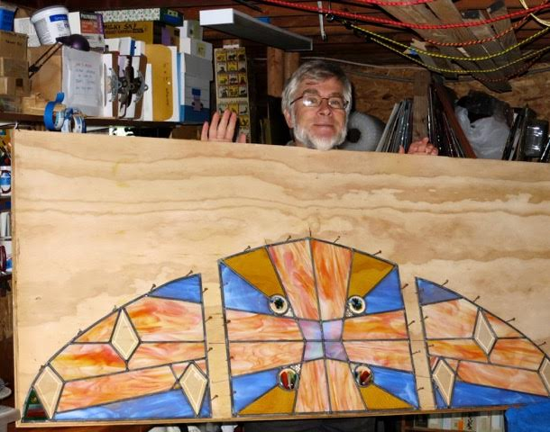 Jim Stickney's stained glass