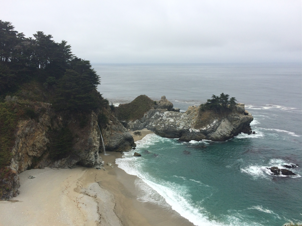 Big Sur Coast and Waterfall