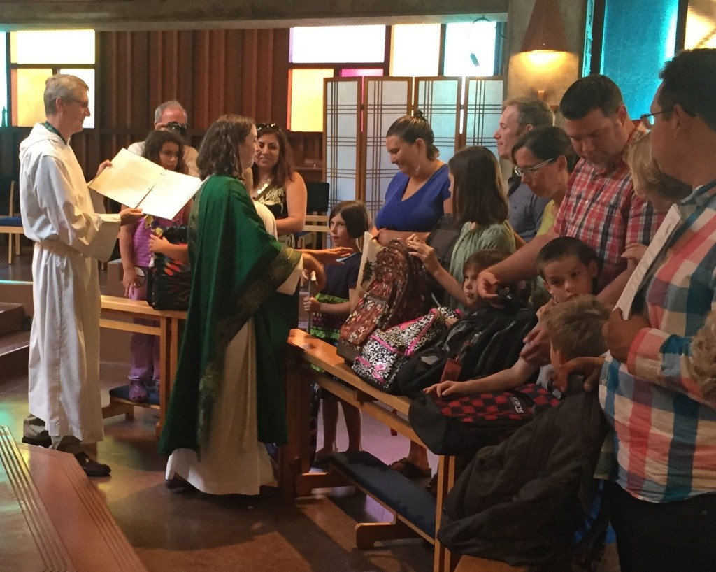 blessing of the backpacks 2015