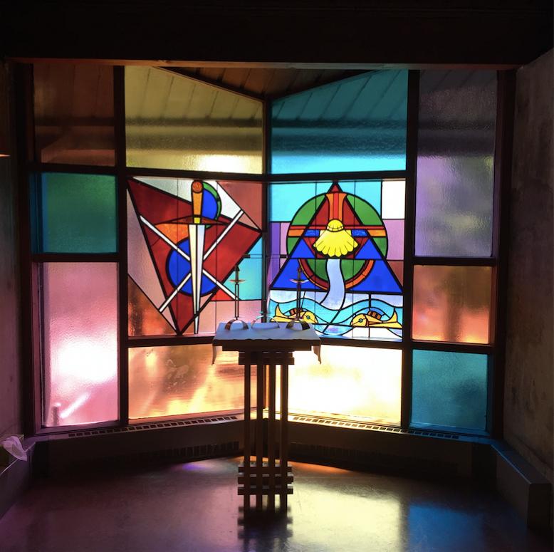 healing altar baptistry