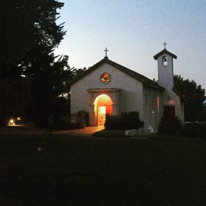 bishops ranch chapel nighttime