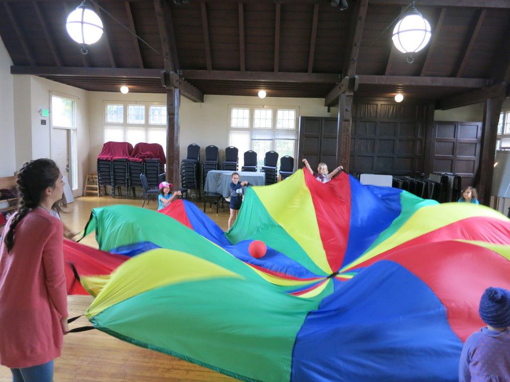 camp all souls parachute
