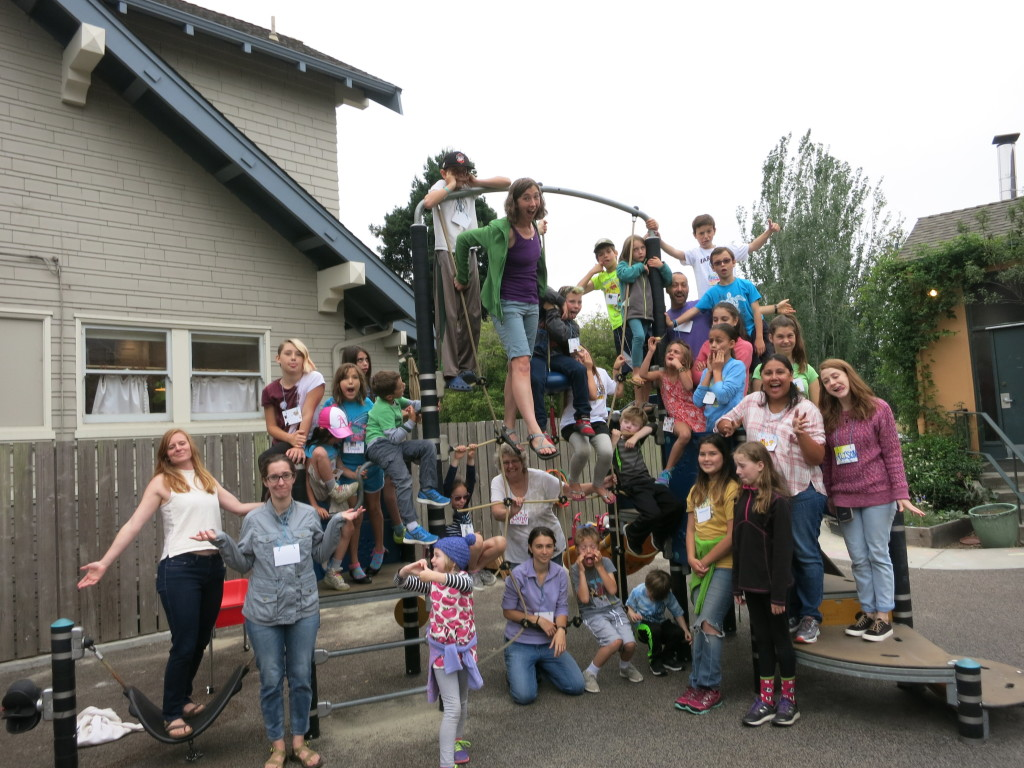 camp all souls silly group shot