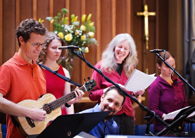 Angel Band warm up
