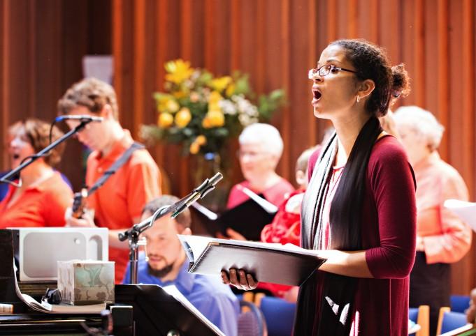 Sarita sings