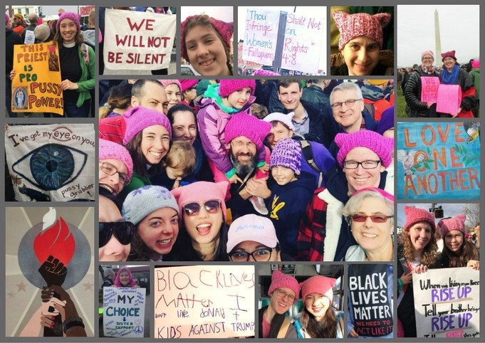 women's march collage 2