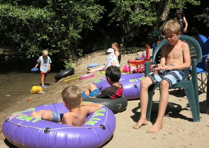 Beach fun Big Sur