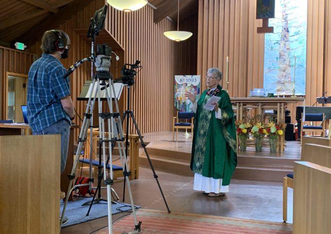 Interim Sabbatical Rector Rt Rev Nedi Rivera preaches